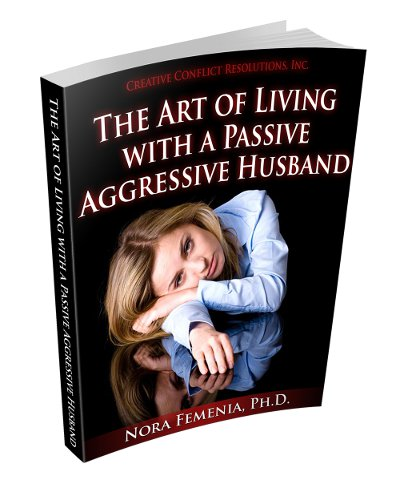 eBook cover, how to deal with passive aggressive husband